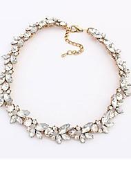 Mode Nouveau collier de diamant sensible des femmes