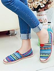 Hobo wird neue 2014 Mode komfortable Farbanpassung Leinen Schuhe