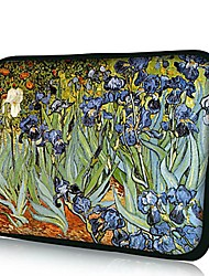 Elonno Beautiful Flowers Housse PC portable Housse Etui Sac pour Macbook Pro 15'' Retina Dell HP Acer