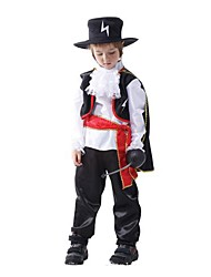 Lightning Zorro Swordsman Kid Halloween Costume