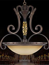lujo luz pendiente clásica 3