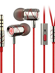 GGMM® Hummingbird In–Ear Phones Noise Cancelling Stereo Metal Headphones Handsfree with Mic for iPhone5/6 iPad S3
