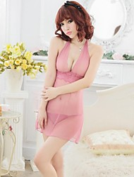 Women's Sexy Bare Breast Style Transparent Lingerie