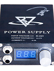 LCD Blue screen Black Tattoo Power Supply