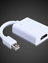 1080P HDMI Converter convertit miniDisplayPort synchronisation vidéo et audio MacBook; MacBook Pro, Mac Book Air Converter