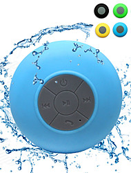 Mini Ultra Portable Waterproof IPX 4 Stereo Wireless Bluetooth Speaker (Blue)