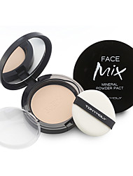[TONYMOLY] Face Mix Mineral Powder Pact 12g (Matte Finish Pressed Powder Pact for Oily Skin)