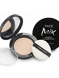 [Tonymoly] poudre visage mélange de minéraux pacte 12g (fini mat satiné pacte de poudre pour la peau grasse)