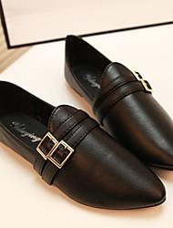 женские плоским пятки остроконечные бездельники носок обуви