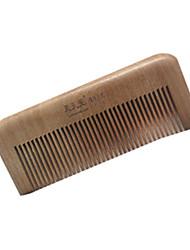 11cm de madeira Comb cabelo
