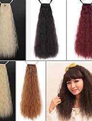 Excelente Qualidade Sintética 24 polegadas longo Taro Curly fita Rabo peruca - 5 cores disponíveis