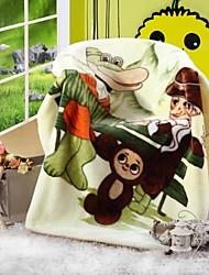 Shuian® Comforter Soft Cartoon Pattern Stay Warm Thickening Raschel Children Blanket