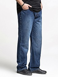 grandes dimensiones ™ h-unidos pantalones de mezclilla de los hombres