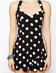WILL Women's Sexy/Casual/Party Straps/V-Neck Sleeveless Dresses (Cotton)