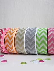 décoration de mariage ondulé coloré design gommé bande de papier (plus de couleurs)