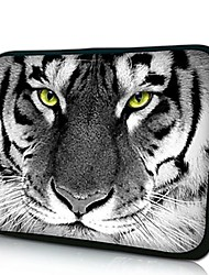 Elonno Tiger Head Neoprene Laptop Sleeve Case Bag Pouch Cover for 7'' Samsung Galaxy Tab iPad Mini