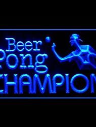 beer pong azul branco publicidade roxo amarelo laranja vermelho levou sinal de luz