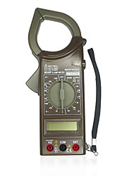 MASTECH M266F AC current digital clamp multimeter diode on-off frequency resistance detection