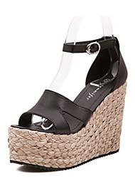 IPIEN Leisure Flange Slipsole Sandal (Black)