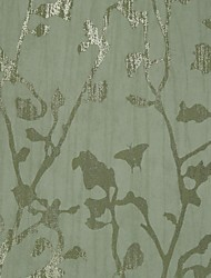 Contemporânea Árvores & folhas não-tecidos Wallcoverings