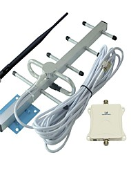 70db Up 1000 Square Meters Gsm 900MHz Mobile Phone Signal Repeater Amplifier Outdoor Yagi Antenna