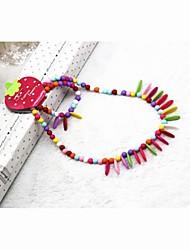 Кориа Девушки Цвет Листья браслеты ожерелья Twinset