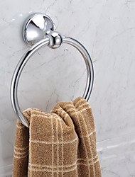 Chrome Finish Stainless Steel Material Towel Rings