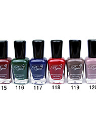 French Imports Makings Pro-environment Nail Polish NO.115-120(16ml,Assorted Color)