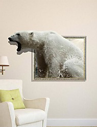 3D Bear Wall Stickers Wall Decals