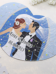 Heart Shaped Персонализированные головоломки - Счастливая свадьба