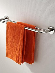 Stainless Steel Bright Polished Finish Double Towel Bars