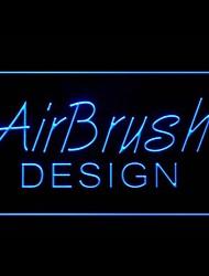 Custom Airbrush Advertising LED Light Sign