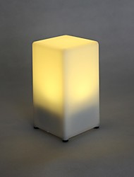Yellow Light LED tafel lamp Oplaadbare Bar KTV bruiloft of feest Gifts licht in plaats van de kaars