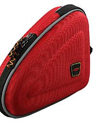Bike Frame Bag Cycling/Bike For Water Bottle Pocket , Red , EVA)
