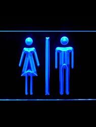 LED wc banheiro Publicidade Luz Sign