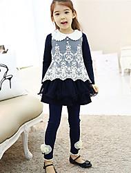 bb&b été nouvelle mode de princesse de lacet de collier de chiffre d'affaires moyen jolie robe 2014 de fille