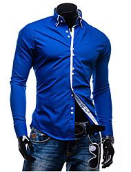 Saimeng Men's Basic Long Sleeve Blazers & Sport Coats