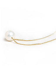 HoneyBaby Single Pearl Necklace