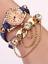 C&D Diamonade Chain Fashion Watch(Royal Blue)