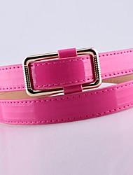 Women Skinny Belt , Cute/Casual Alloy/Leather