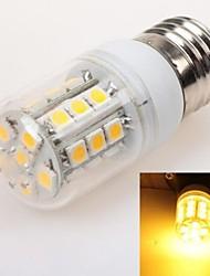 E26/E27 3 W 27 SMD 5050 240 LM Warm White T Corn Bulbs AC 220-240 V