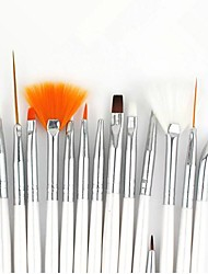 15pcs Nail Art Картина кисти наборы