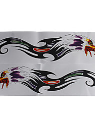 Motorcycle Stickers Zonal Eagle Head