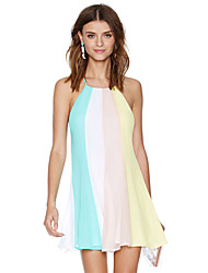 Women's Dresses , Chiffon Casual/Work SouthStore
