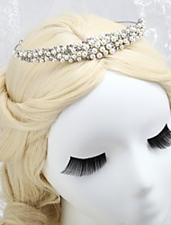 Gorgeous Alloy With Pearls Tiara