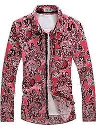 Camicia con maniche Primavera Uomo
