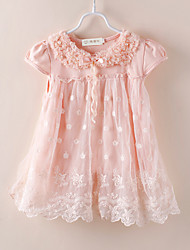 Kid's Top & T-Shirt , Cotton/Lace Cute Momlook