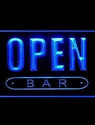 Open Bar di pubblicità LED Light Sign