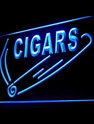 pubblicità sigaro riempitivo ha condotto il segno della luce