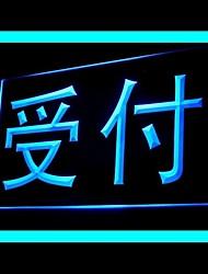 LED Reception Cassiere Pubblicità Light Sign